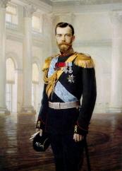 Nikolai II portree