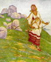 Merede taga on suured maad, Roerich 2