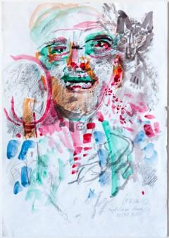 Autoportree Magdaleena haiglas